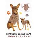 Patrón Camiseta Cuello Alto Para Mascotas
