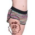 Patrón Pantalón corto para niñas escalado en 8 tallas (02-16)