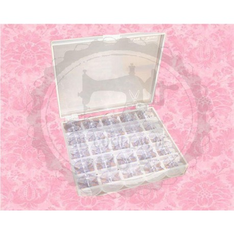 Box Canillas Transparentes