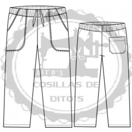 Pantalón Niño con goma/elástico en cintura y Bolsillos